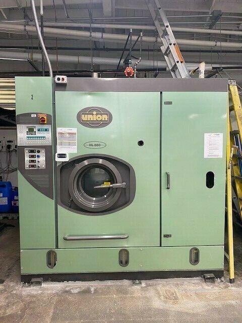 Union HL880 Hydrocarbon Dry Clean Machine 2001