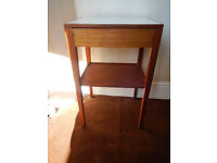1968 Vintage remploy bedside table, needs some loving attention or fine as it is for Retro Chic.