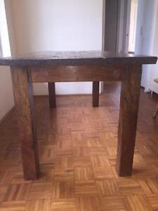 Recycled Hardwood Dining Table Railway Sleeper Vaucluse Eastern Suburbs Preview
