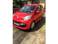 Red Citroen C1 just 41000 miles