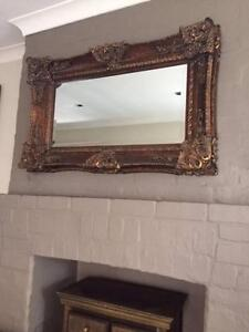 Large ornate mirror Woollahra Eastern Suburbs Preview