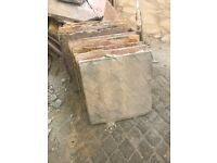 Paving Slabs (approx. 50) & Breeze Blocks (approx. 15)