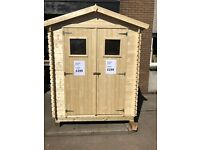 WOODEN GARDEN SHEDS FOR SALE