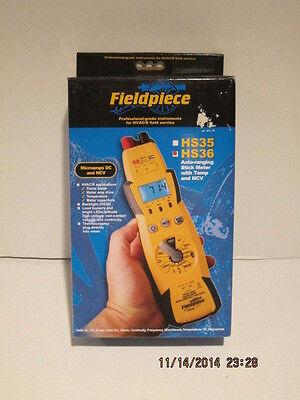 Fieldpiece Hs36 Expandable Autoranging True Rms Stick Multimeter Wbacklight Nib