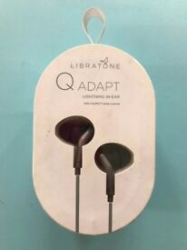 Libratone Q Adapt Lightning In-Ear Noise Cancelling Headphones for iphone - Stormy black