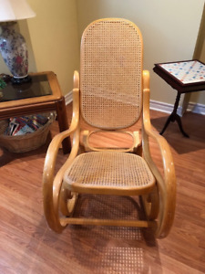 Classic Bentwood Rocking Chair