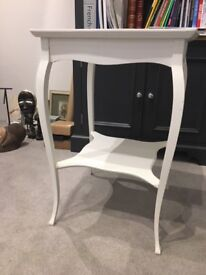 White Occasional Table