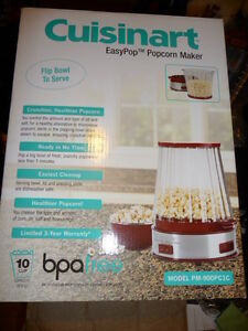 Cuisinart EasyPop Popcorn Maker, Red, PM-900PC1C, Brand New in B