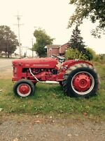 Antique International Farm Tractor
