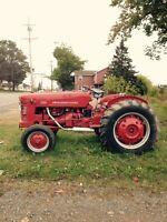 Antique International Farm Tractor