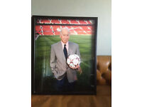 Bobby Charlton Framed Photograph