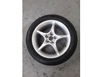 Alloy Wheel Toyota Celica with new Tyre never used