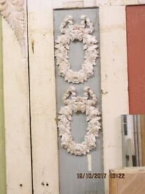 Pair of Carved Wood Frames