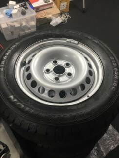 4 Brand New Tires and Wheels
