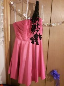 Prom/Grad dress Pink and Black