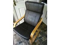 swedish style armchair