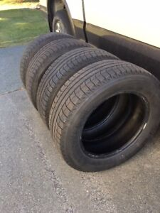 4 Michelin Latitude X-Ice 225/65 R17 Tires only