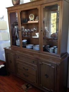 Beautiful hutch and sideboard