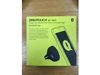 ZEROTOUCH Air Vent Smart Car Mount with Voice Controlled App, NEW BOXED