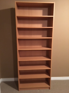 tall Billy bookshelf from IKEA