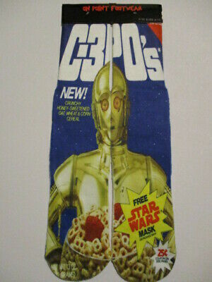 STAR WARS CEREAL SOCKS BUY 3 pairs GET 4TH PAIR FREE footwear like ODD SOX