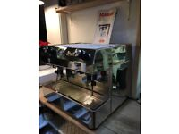 For sale Fracino Two Group Semi-Auto Coffee Machine for a Cafe Restaurant or Catering