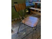 1950s Brown table and chairs set