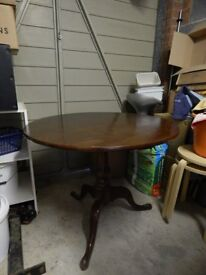 Small Flip Top Dining Table