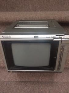 "Vintage 12"" Colour TV and VCR"