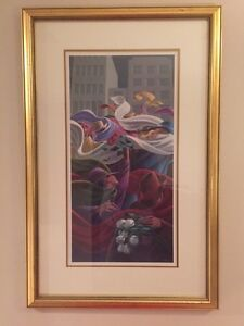 Claude Theberge Framed Art - Les Trois Roses
