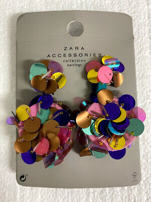 Zara Accessories Collection EARRINGS 1856/010/330 - Brand New