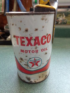 Texaco Oil Can with Pouring Spout