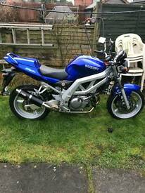 Suzuki SV650 naked, swap or open to offers