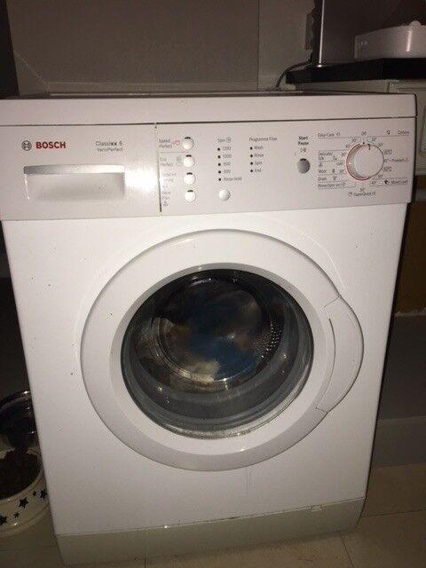 For Sale - Excellent Condition: Bosch Classixx 6 Washing Machine 6kg