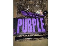 Aria hair straighteners in Purple