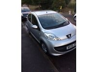 PEUGEOT 107 2008 1.0 SILVER £20 A YEAR TAX!