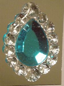 Edible sugar brooch wedding cake diamond jewel gem candy for Decoration jewels mhw