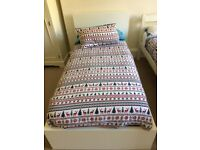 ikea Malm Bed & mattress 190x90.