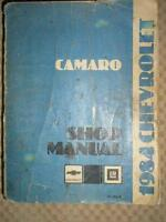 1984 CAMARO SHOP MANUAL