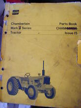 CHAMBERLAIN MARK 3 TRACKTOR PARTS BOOK  c1973 Dianella Stirling Area Preview