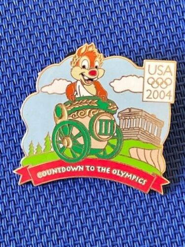 Disney DLR - Countdown to the Olympic Games USA 2004 - #3 Dale Pin LE 750