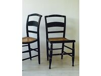 4 elegant dining chairs