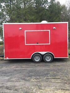 Book your 2017 18 FT Concession Trailer / Food Truck!