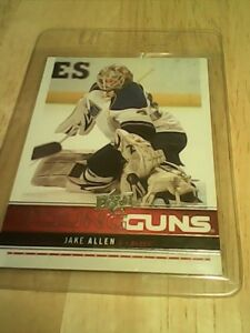 Carte hockey, Jake Allen 2012-13 upper deck yg #244