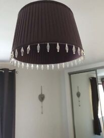 Bedside Lamp & Ceiling Lampshade