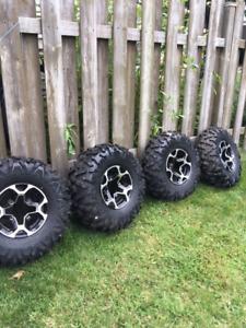 Big horn tires for ATV