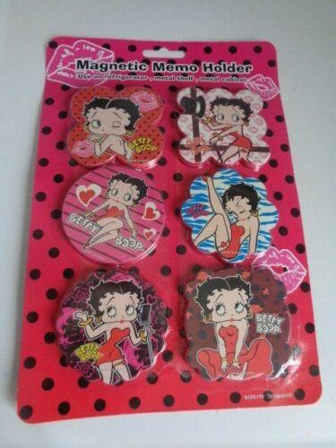 Betty Boop Magnetic Memo Holders