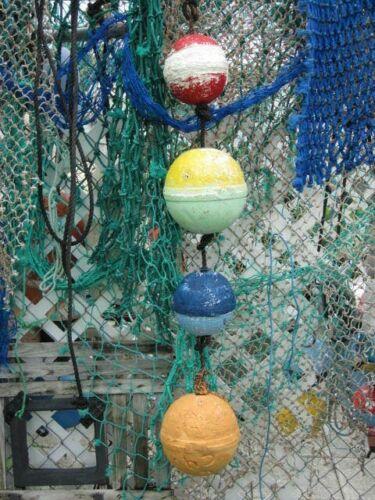 Authentic Florida Stone Crab Lobster Buoys / Fishing Floats Tiki Island Decor