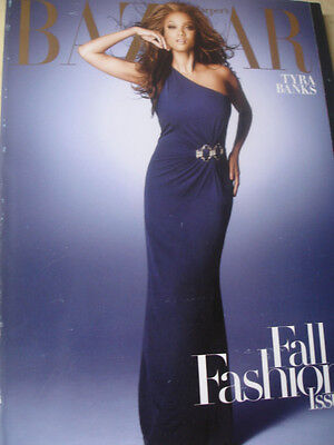 September 2008 Bazaar Tyra Banks Subscriber Cover   Angela Lindvall