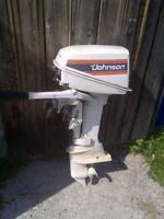 Johnson 7.5hp motor